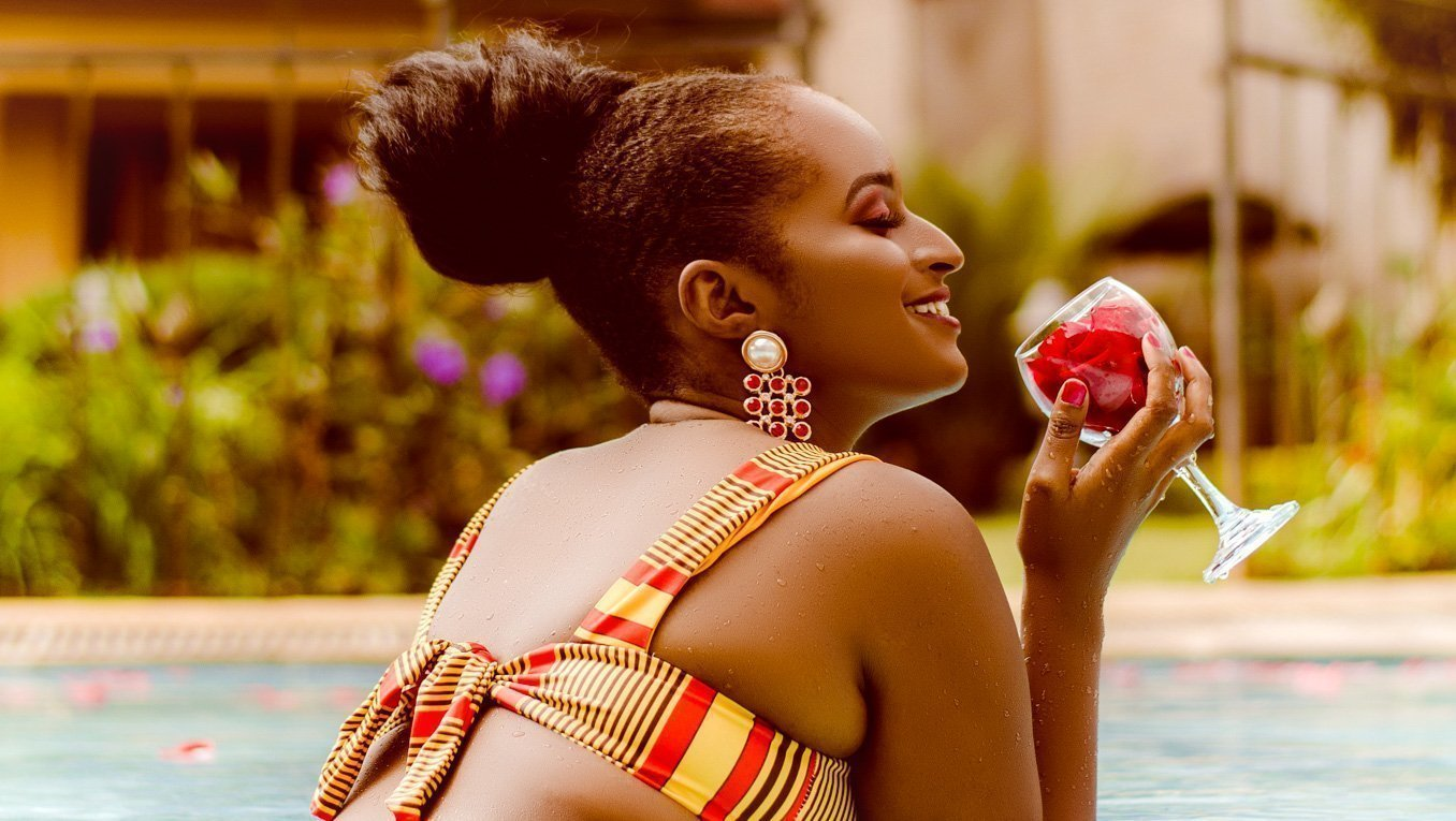 Neema Nkatha Kinoti, a Kenyan entrepreneur celebrating African culture through her unique designer swimwear